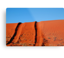 Up and Over,Madigan Line Simpson Desert Metal Print