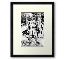 Workover Framed Print