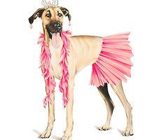 Dress Up (Pretty In Pink) by SaraMachenArt