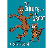 The Brute and The Groot Photographic Print