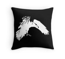 Corvidae Logo Throw Pillow