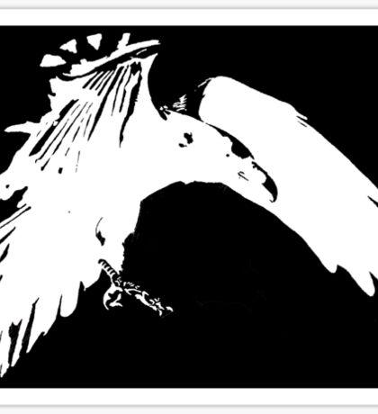 Corvidae Logo Sticker
