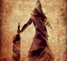 Silent Hill Pyramid Head Illustration by AlisterCat