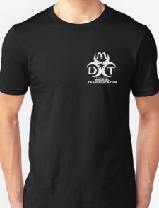 Department of Magical Transportation Badge - White T-Shirt