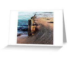 Shifting Sands of Time Greeting Card