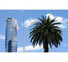 A Trio of Melbourne's Icons Photographic Print