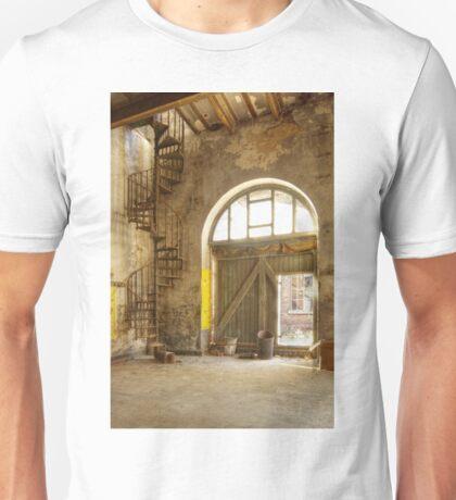 The downward spiral Unisex T-Shirt