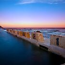 Merewether Baths by Donnalee