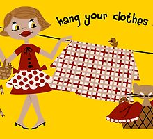 Hang Your Clothes Out by Sonia Pascual