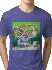 March Hare at the Tea Party Tri-blend T-Shirt