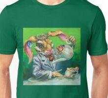 March Hare at the Tea Party Unisex T-Shirt