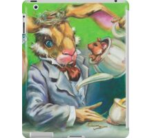 March Hare at the Tea Party iPad Case/Skin