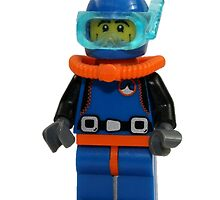 LEGO Diver by jenni460