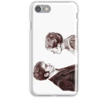 """Human Nature"" Doctor Who Inspired Sketch iPhone Case/Skin"