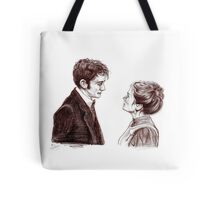 """""""Human Nature"""" Doctor Who Inspired Sketch Tote Bag"""
