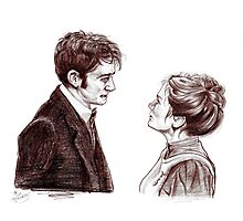 """""""Human Nature"""" Doctor Who Inspired Sketch Photographic Print"""