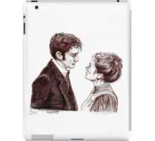 """Human Nature"" Doctor Who Inspired Sketch iPad Case/Skin"