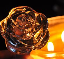 Bottle top in candlelight by mltrue