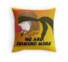 We are Diamond Mogz Throw Pillow