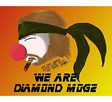 We are Diamond Mogz Photographic Print