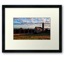 St. Patrick and Saul Church Framed Print