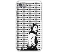 Allison Argent Arrows iPhone Case/Skin
