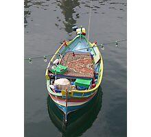 Maltese Fishing Boat Photographic Print