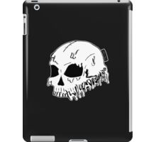 Dripping With Sarcasm - White Skull iPad Case/Skin