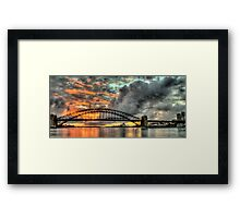 Contemplation - Moods Of A City - The HDR Experience Framed Print