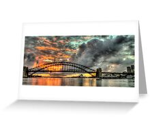 Contemplation - Moods Of A City - The HDR Experience Greeting Card