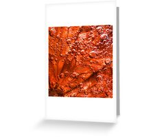 Blood Grapefruit in fizzy water Greeting Card