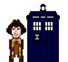 Fourth Doctor Pixel Art by whatismyname