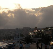 Negresco at Dusk  by MsGourmet