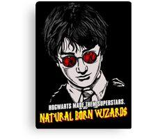 Natural Born Wizards Canvas Print