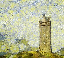 Starry Scrabo Tower by Nigel R Bell