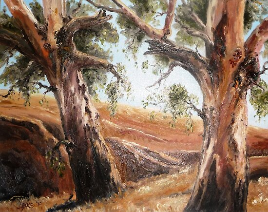 Wheatbelt Gums by Diko