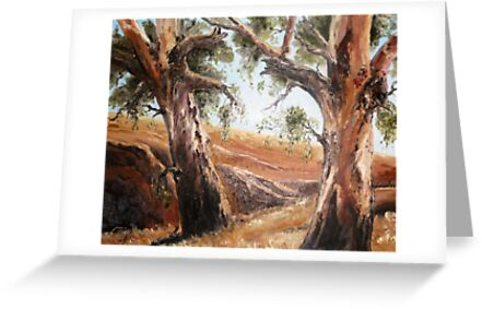 Wheatbelt Gums by Diko