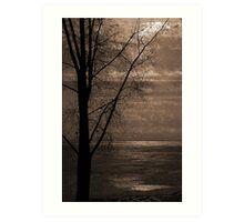 Winter Softly Art Print