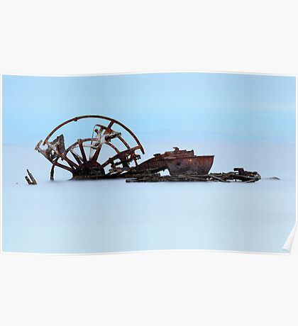 The Ozone Wreck - Indented Heads Bellarine Peninsula Poster