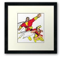 Shazam! Framed Print