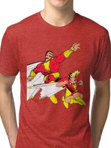Shazam! Tri-blend T-Shirt