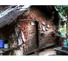 Shan bamboo house Photographic Print