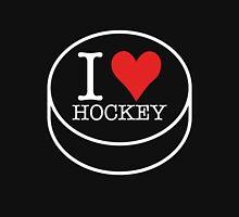 I love Hockey in white Unisex T-Shirt