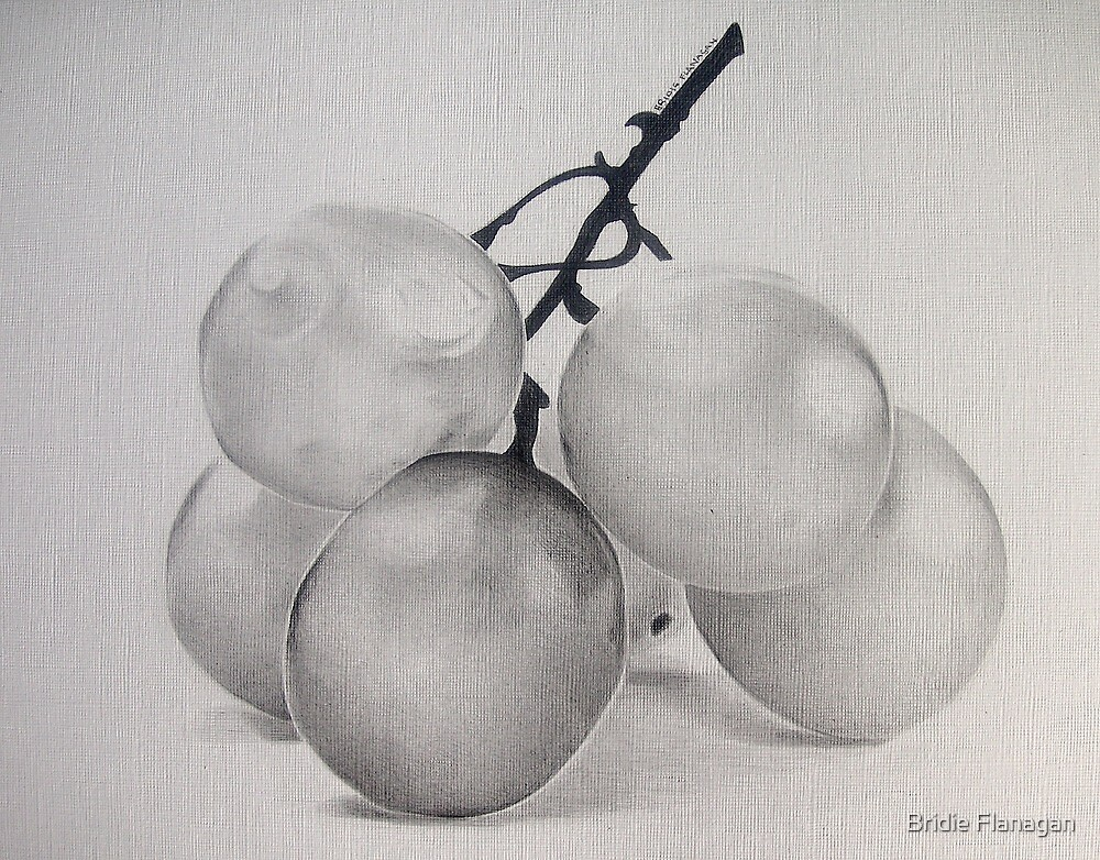 Grapes by Bridie Flanagan