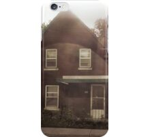 Old House in a Circle of Light iPhone Case/Skin