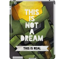 This is real iPad Case/Skin