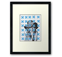 x-out Framed Print