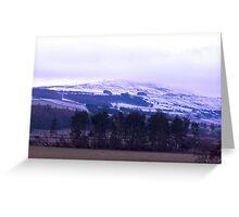 Coisterdale Moor Greeting Card