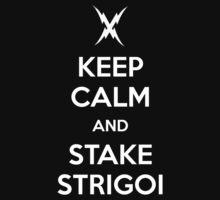 KEEP CALM AND STAKE STRIGOI by princessbedelia