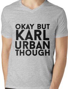 Karl Urban Mens V-Neck T-Shirt